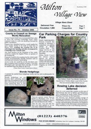 VV Issue 74 Oct 2006