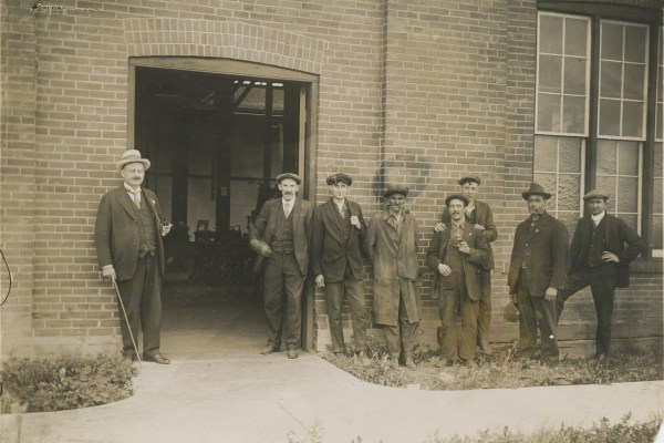 Workers at the Robertson Screw Factory