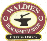 Waldie Blacksmith Shop logo