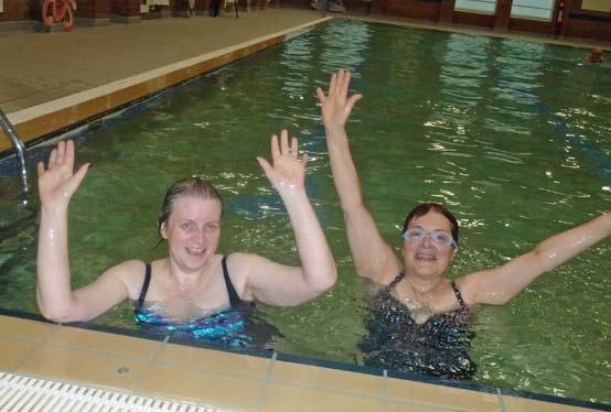 Sponsored swim