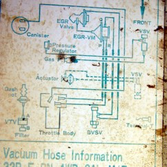 1987 Toyota Pickup Vacuum Line Diagram Red Ryder Bb Gun For 87 Yotatech Forums