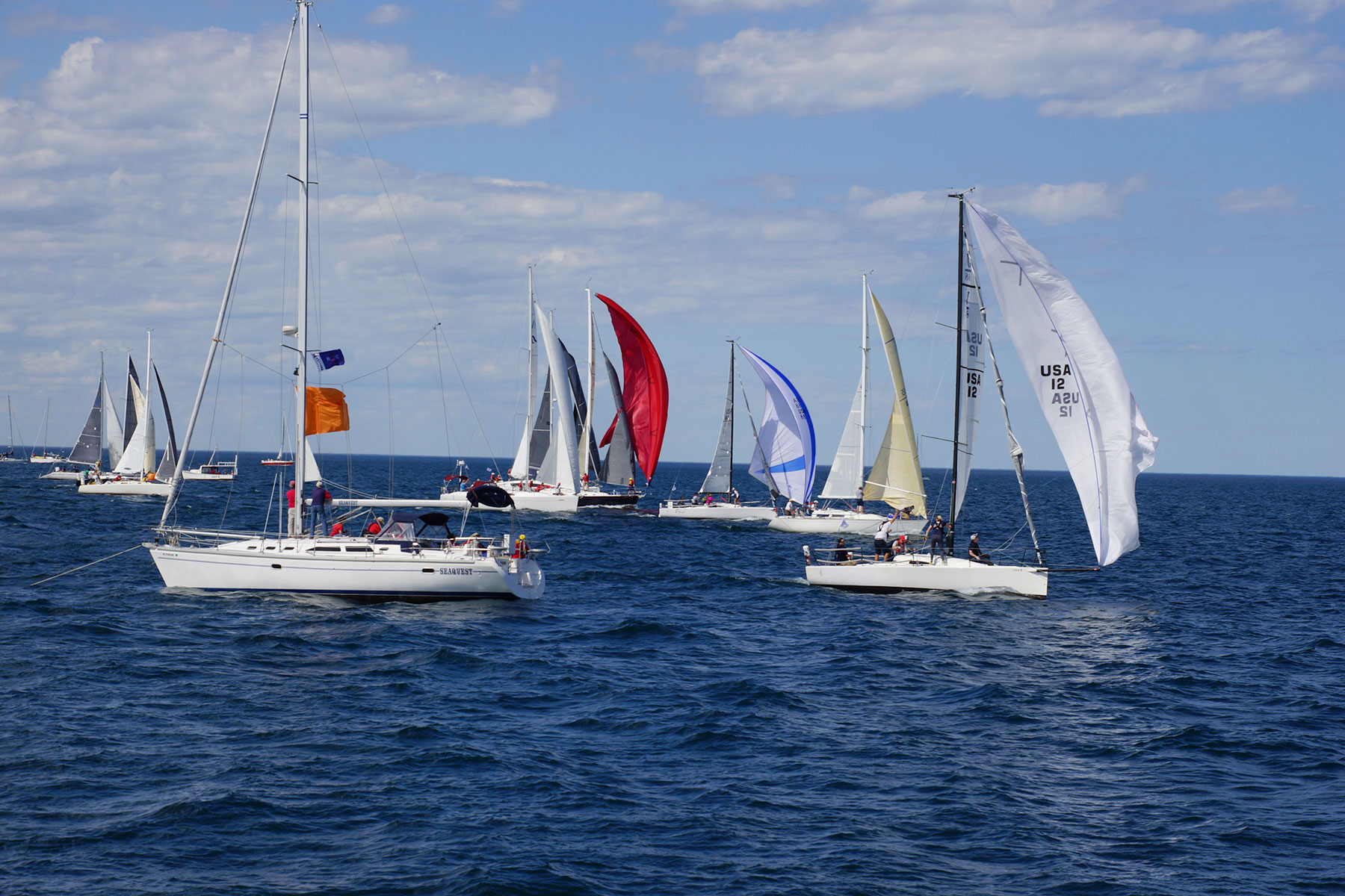 Sailboats Race In Queens Cup To Win One Of Oldest