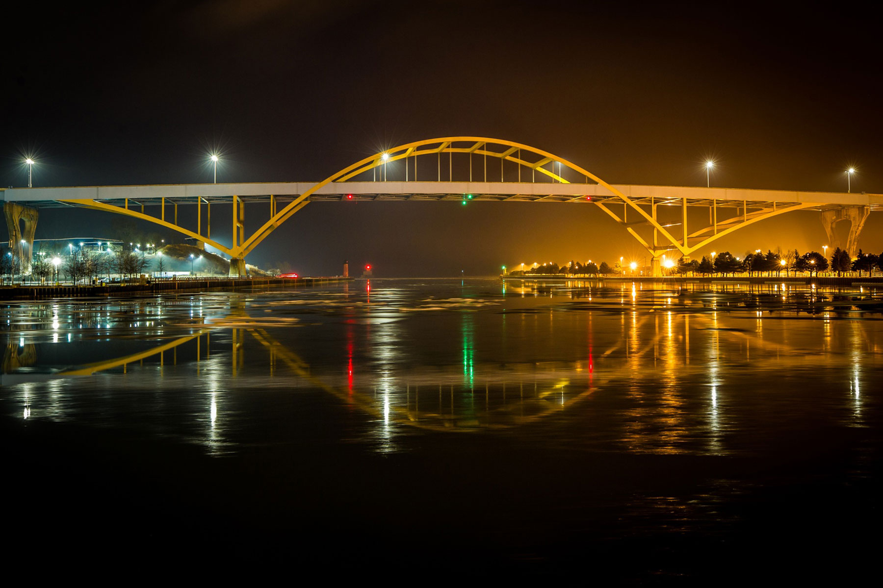 """""""Light the Hoan Bridge"""" offers illumination of positive stories with crowdsourcing campaign   The Milwaukee Independent"""