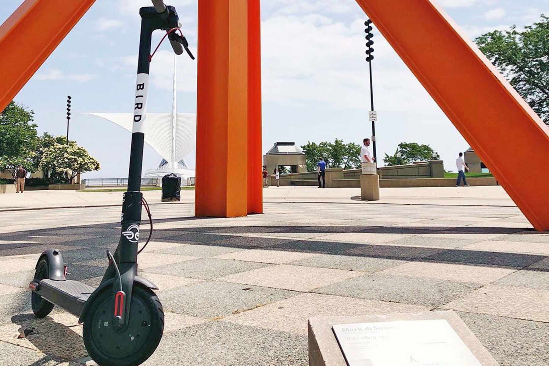 chair rental milwaukee light gray bird faces lawsuit in over scooters the
