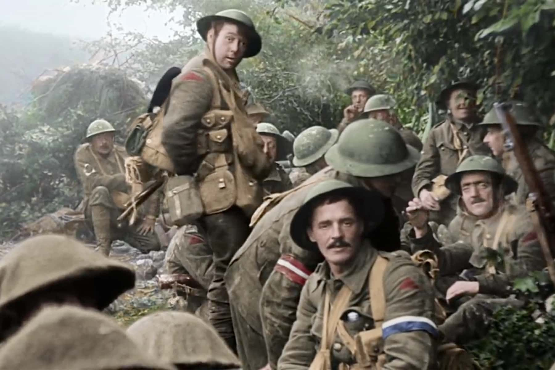 Restored Trench Warfare Footage Brings Wwi Memories Back