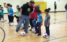 Pro Soccer Player Returns Northcott Start Youth