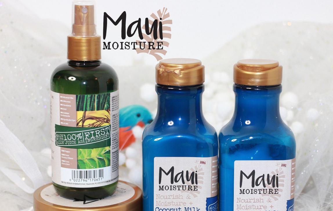 Maui Moisture: la nouvelle marque capillaire vegan disponible en exclu chez Monoprix !