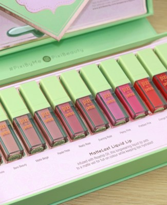 Les MatteLast Liquid Lip de Pixi Beauty !