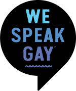 we speak gay - logo official, small