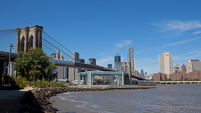 At the Foothills of the Brooklyn Bridge