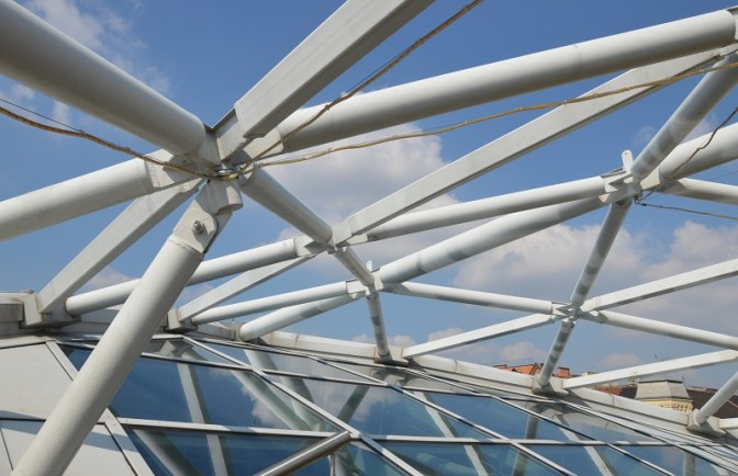 The roof structure