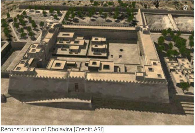 Dholavira reconstruction