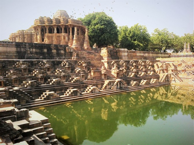Surya Kund with temples
