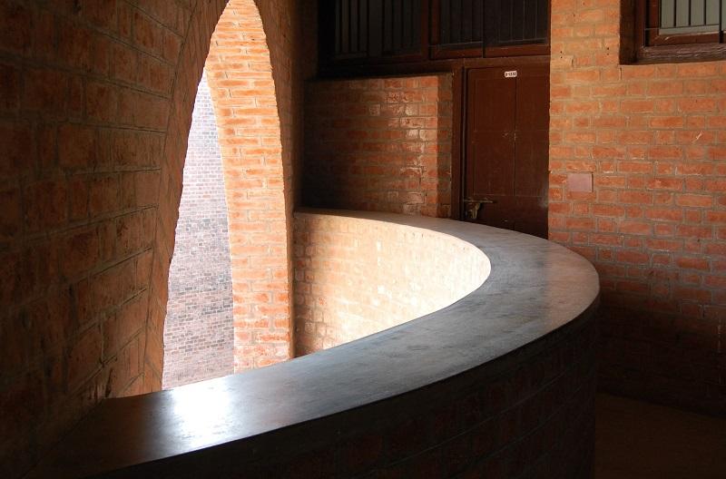 Inside a dormitory