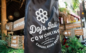 Dojo Bali a Coworking Space with Sophisticated Beach View