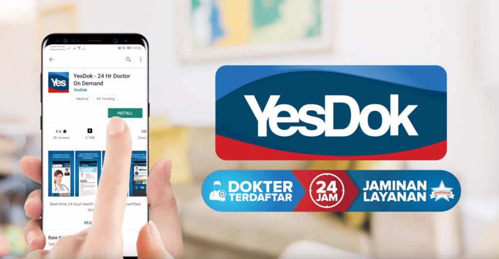 Competing with Gojek and Grab, DANA Collaborates with YesDok