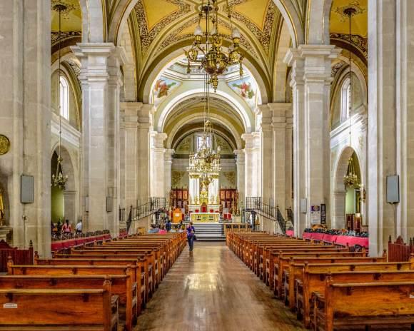 Interior de la Catedral de Durango