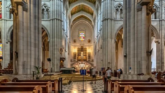 Altar principal de la Catedral de Santa María La Real