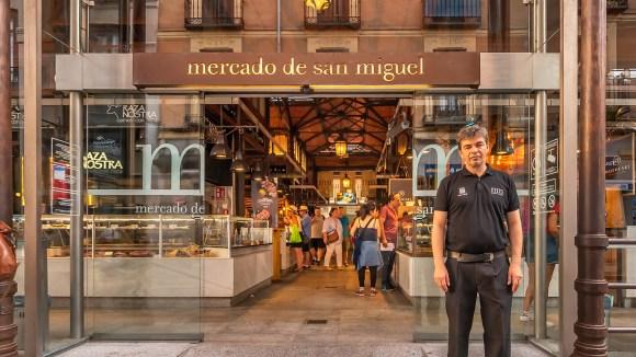 Entrada al Mercado de San Miguel