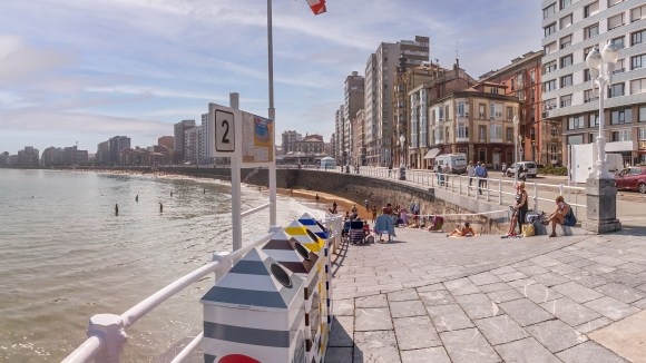 La Escalerona en Gijón