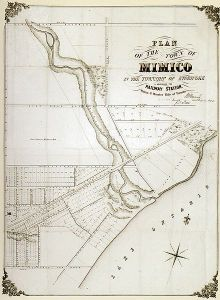 Historic Town of Mimico - 1856