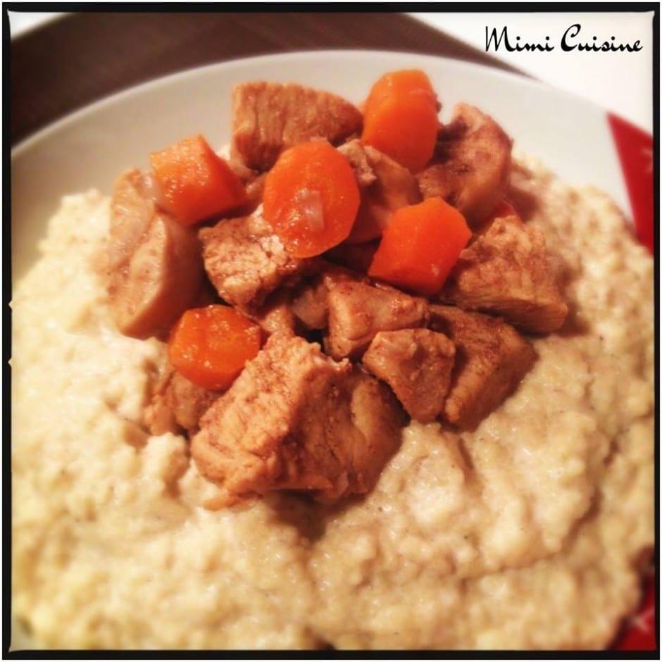 tajine de poulet aux douces epices recette cookeo