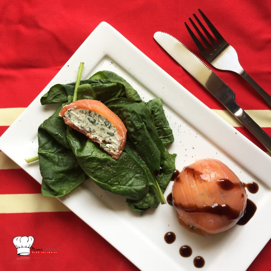 domes de saumon fume au fromage frais recette tupperware