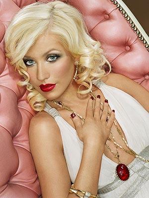 Sexy Singer Christina Aguilera