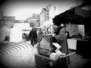 Photos Animation orgue de Barbarie : marché de Noël