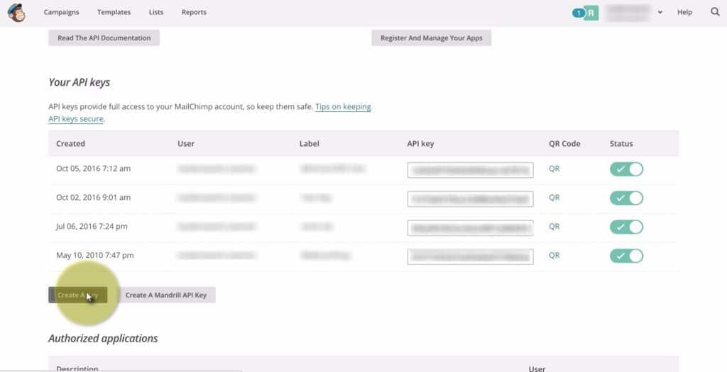 Mimiran-MailChimp-Integration-Setup
