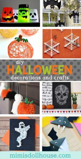 Diy Halloween Decor Craft Ideas Mimi S Dollhouse
