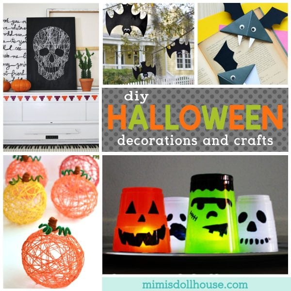 Diy Halloween Decor Craft Ideas Mimi S Dollhouse