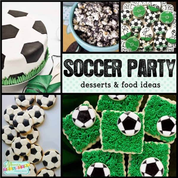 game winning soccer desserts party