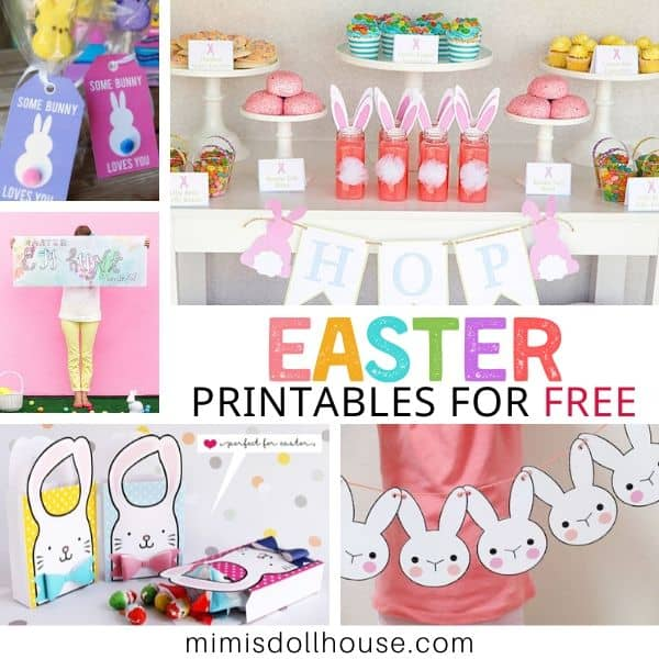 40 Free Easter Printables To Get Easter Ready Mimi S Dollhouse