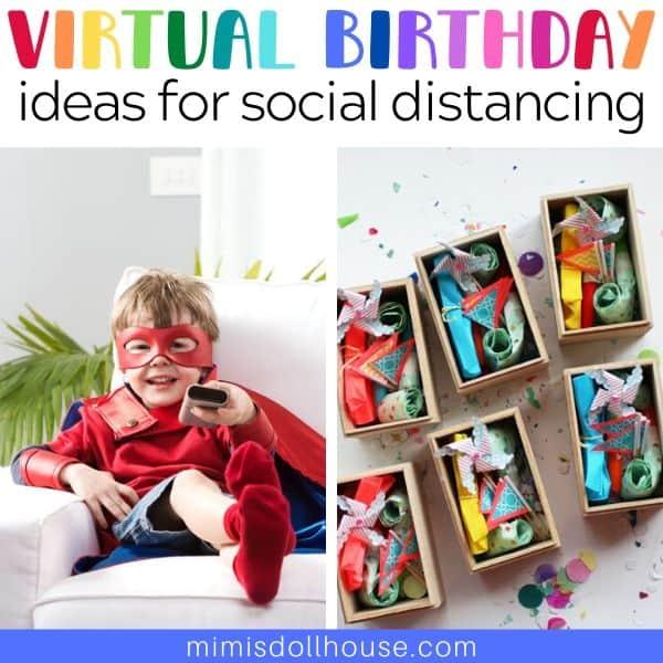 fun virtual birthday party ideas you