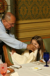 The History and Etiquette of Napkins  Mimis Manners