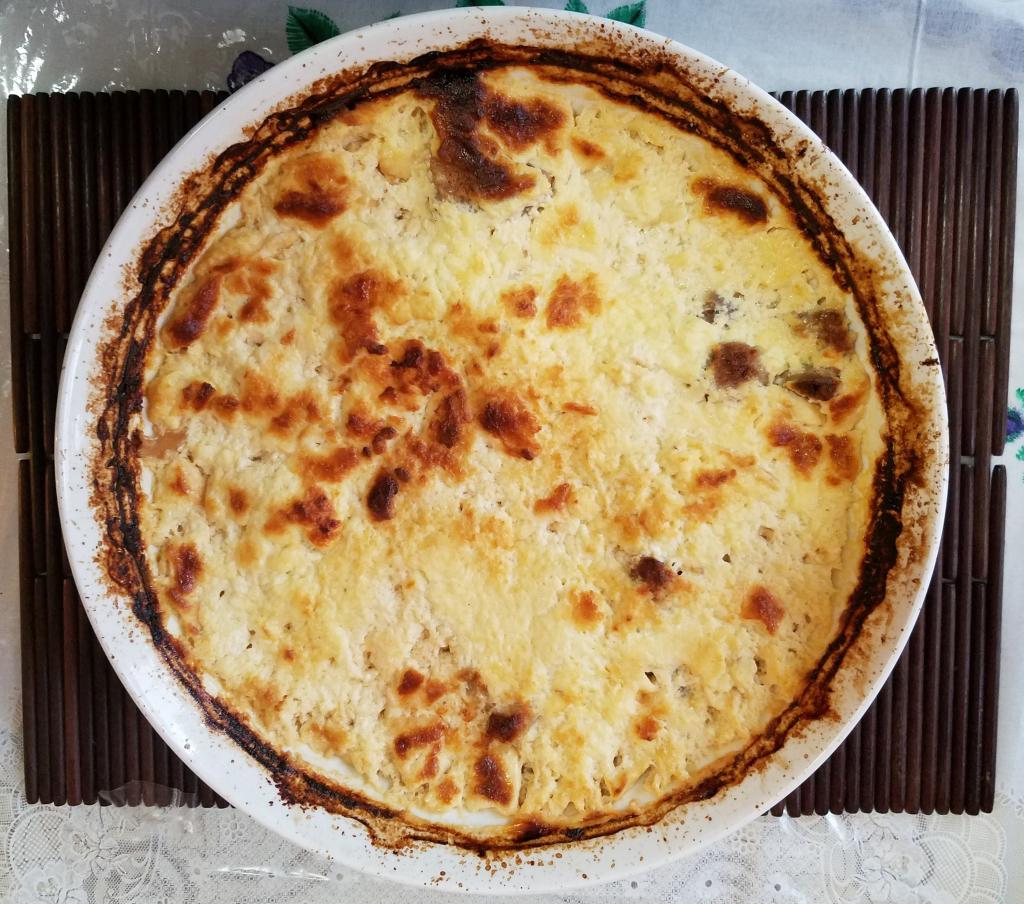 Lamb Yogurt Casserole Cooked