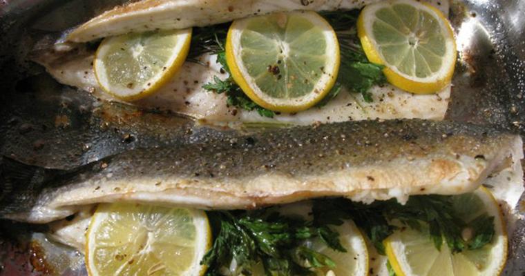 Oven Baked Fish (Peshk në Furrë)