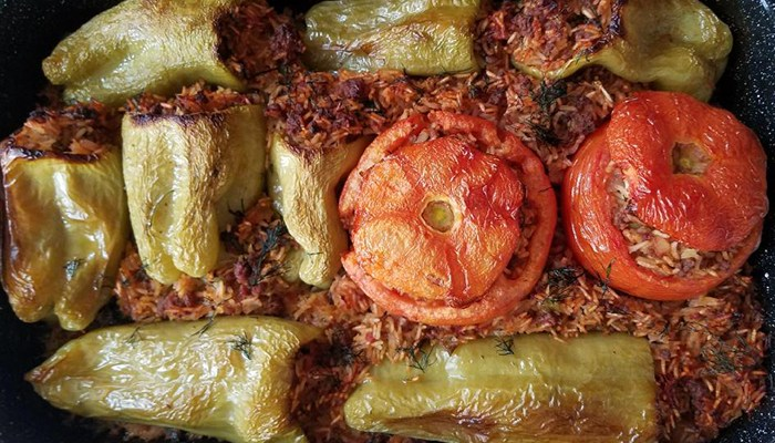 Stuffed Peppers Ground Beef Rice