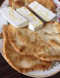 Albanian Flatbread - Served (Salty)