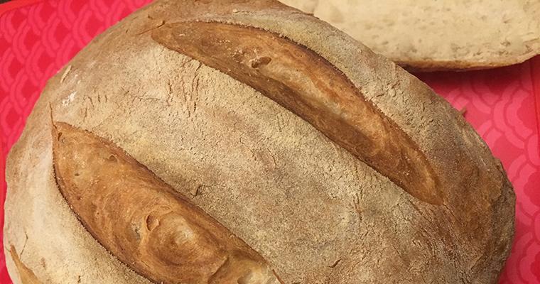 No Knead Bread (Bukë e Thjeshtë)