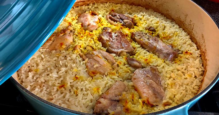 Oven Baked Chicken & Rice (Pilaf me Mish Pulë në Tavë)