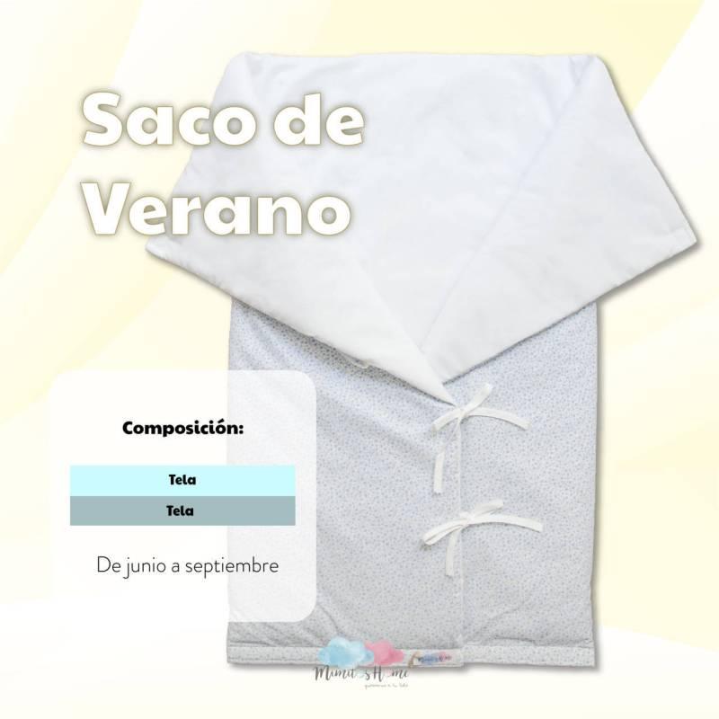 SACO BEBE PARA CAPAZO VERANO