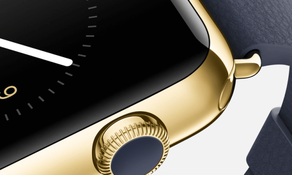 Screen shot of the Apple watch Apple.com