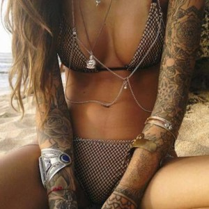 Tattoos on women is hot