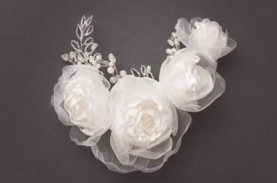Eta Rose Headpiece