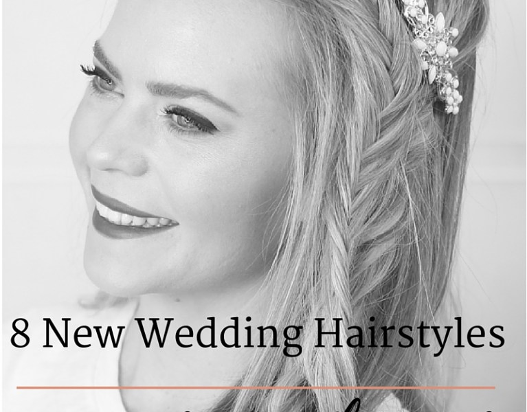 Eight Inspiring Wedding Hairstyles & How To Try Them Out