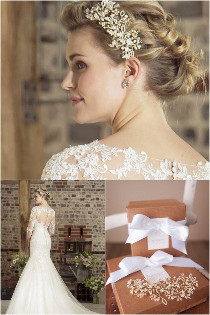 Lace Back Wedding dress True Bride