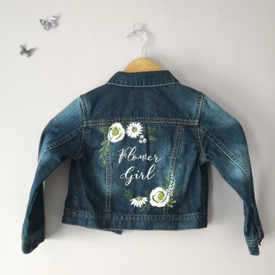 flower girl jacket