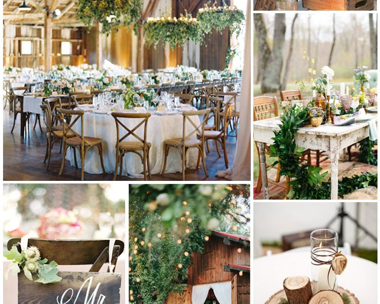 Wedding Styling Trends – Rustic & Barns